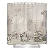 No.0613 The West Room And The Dome Room Shower Curtain