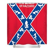 No108 My The Dukes Of Hazzard Movie Poster Shower Curtain