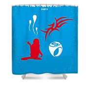 No145 My The Hangover Part 2 Minimal Movie Poster Shower Curtain