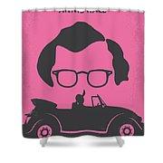 No147 My Annie Hall Minimal Movie Poster Shower Curtain