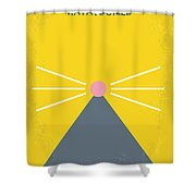No163 My Ratatouille Minimal Movie Poster  Shower Curtain