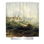 No.2289 Chiesa Della Santa Casa Shower Curtain