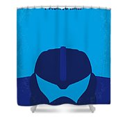 No306 My Pacific Rim Minimal Movie Poster Shower Curtain