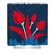 No340 My The Fault In Our Stars Minimal Movie Poster Shower Curtain
