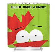 No364 My Bigger Longer Uncut Minimal Movie Poster Shower Curtain