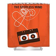 No384 My Eternal Sunshine Of The Spotless Mind Minimal Movie Pos Shower Curtain
