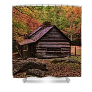 Noah Ogle Place In The Smoky Mountains Shower Curtain