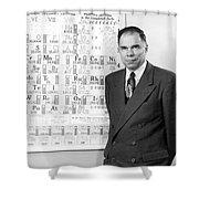 Nobel Winner Glenn Seaborg Shower Curtain