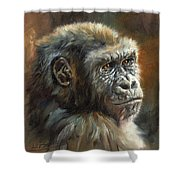 Noble Ape Shower Curtain