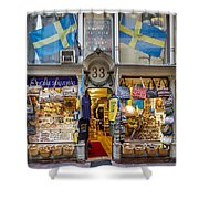 Noble Souvenirs. Stockholm 2014 Shower Curtain