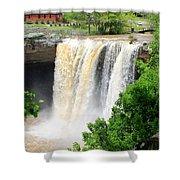 Noccalola Falls Shower Curtain