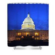 Nocturnal Art Shower Curtain