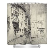 Nocturne Palaces Shower Curtain