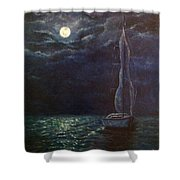 Nocturne Song Shower Curtain