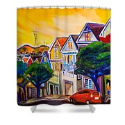 Noe Valley  Shower Curtain