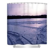 Noetion Shower Curtain