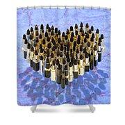 Noir Baisers Shower Curtain