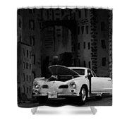 Noir City Shower Curtain