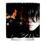 Noomi Rapace As Lisbeth Salander In The Film Millenium Shower Curtain