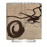 Noonday Dance No.5 Shower Curtain