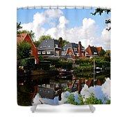 Noorder Amstelkanaal Amsterdam Shower Curtain