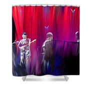 Norah Jones On Stage Shower Curtain
