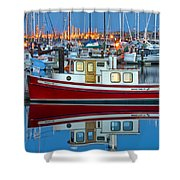 Nordic Tug Shower Curtain