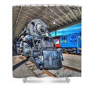 Norfolk And Western 1218 And 1776 Shower Curtain