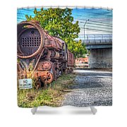 Norfolk And Western Class M2c  No 1151 Shower Curtain
