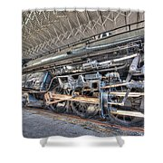 Norfolk And Western Locomotive 1218 Shower Curtain