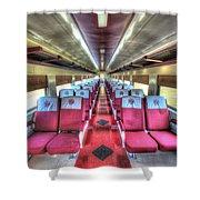 Norfolk And Western Passenger Coach Shower Curtain