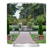 Norfolk Botanical Gardens 6 Shower Curtain