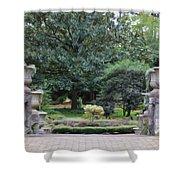 Norfolk Botanical Gardens 7 Shower Curtain