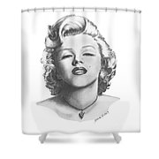Norma Jeane Shower Curtain