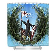 Norman Crusader Shower Curtain