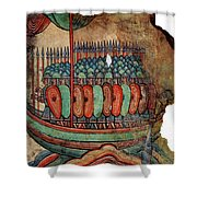 Norman Soldiers 11th Century Shower Curtain