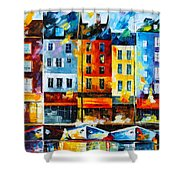 Normandy France Shower Curtain