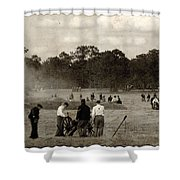 North And South Shower Curtain