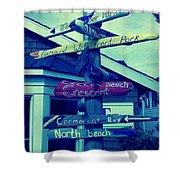 North Beach Shower Curtain
