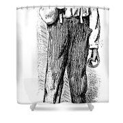 North Carolina Carpenter Shower Curtain