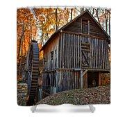 North Carolina Grist Mill Photo Shower Curtain
