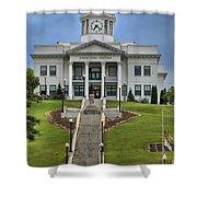 North Carolina Jackson County Courthouse Shower Curtain