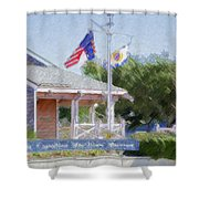 North Carolina Maritime Museums Shower Curtain