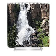 North Clear Creek Falls Shower Curtain