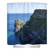 Photographs Of Cornwall North Coast  Cornwall Shower Curtain