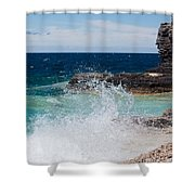 North East Winds Shower Curtain