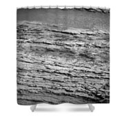North Fork Of The Flathead River Montana Bw Shower Curtain
