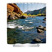 North Fork Of The Shoshone River Shower Curtain