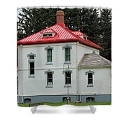 North Head Lighthouse Keepers Quarters Shower Curtain