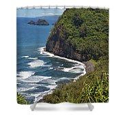 North Kona Coast 1 Shower Curtain